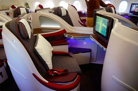 airways business class seats pictures review qatar airways airbus a350 business and economy