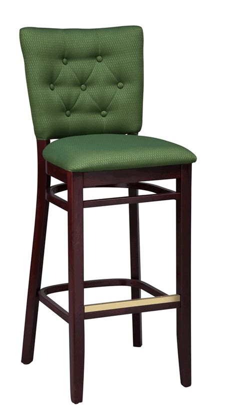 Upholstered Bar Height Chairs Regal Seating Series 2420 Wooden Counter Height Bar Stool