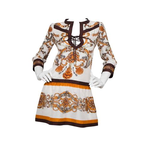 Dress Tunik Jucci gucci multicolored tunic dress for sale at 1stdibs