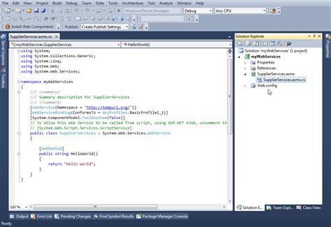 cara membuat web service xml membuat web service di c helloworld