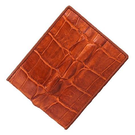 Fossil Croco Wallet L vodux s authentic crocodile skin leather bifold