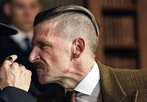 peaky blinders hairstyle how to get the arthur shelby peaky blinders haircut