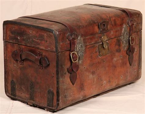 leather steamer trunk coffee 17 best images about trunks and boxes on pinterest