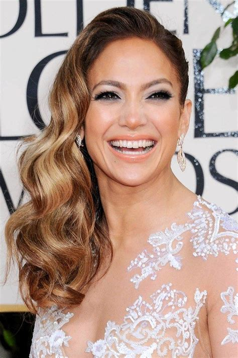 golden globes hair makeup was all about the drama 17 best ideas about red carpet hair on pinterest red