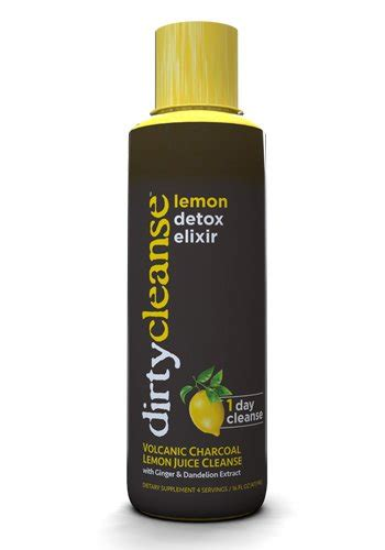 Lemon Drink Detox Reviews by Cleanse Volcanic Charcoal Lemon Juice Cleanse 16