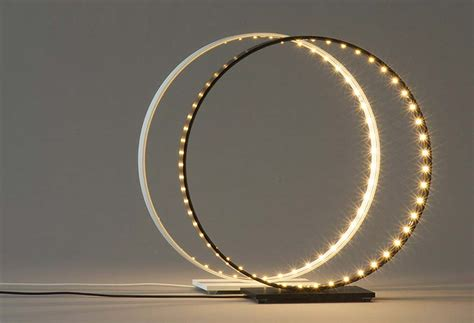 circular led light in one circular led feature light homes