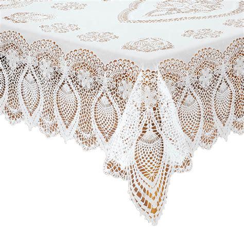 lace vinyl table covers vinyl lace tablecloth vinyl tablecloth kimball