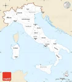 map of italy simple deboomfotografie