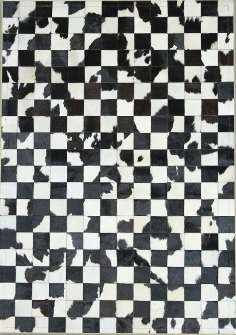 Black White Rugs Modern Black White 10x10 Cowhide Rug From The Cowhide Rugs Collection At Modern Area Rugs