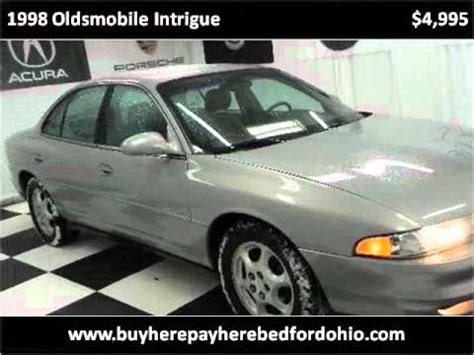 online auto repair manual 1998 oldsmobile intrigue on board diagnostic system 1998 oldsmobile intrigue problems online manuals and repair information
