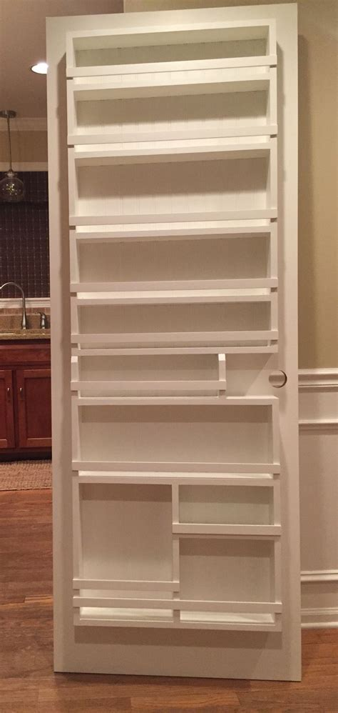 diy the door spice rack best 25 pantry door rack ideas on diy