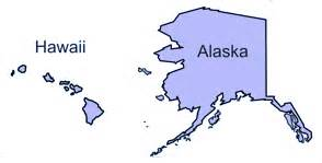 usa map with alaska and hawaii leasure alaska and hawaii pushpage