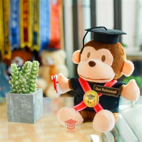 boneka monyet baby millo jual hadiah wisuda baby milo s 23 cm murah kado wisudaku