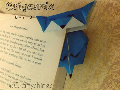 Origami Cat Bookmark - 17 best images about origami bookmark on
