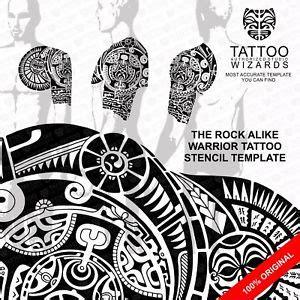 tattoo dwayne johnson plantilla the rock dwayne johnson alike maori polynesian tattoo