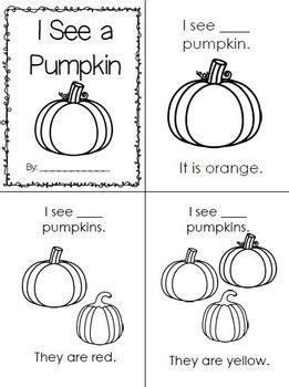 pumpkin counting coloring pages pumpkin count color emergent reader printable student