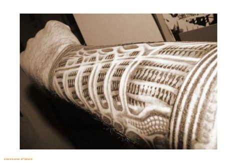 tattoo arm metal metal cover arm tattoo