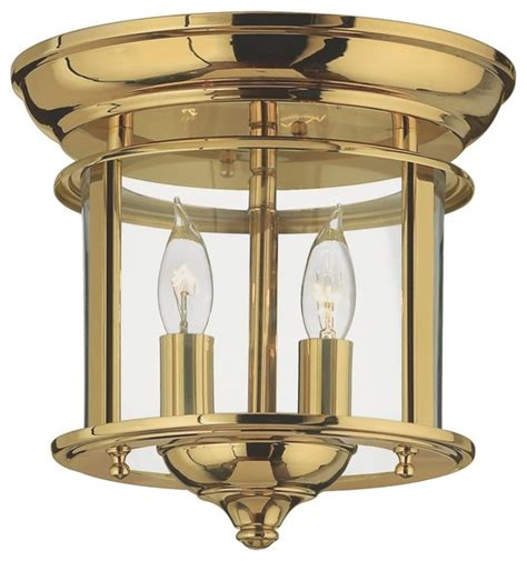 Country Cottage Hinkley Gentry Collection Brass 9 Quot Wide Cottage Ceiling Lights