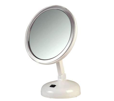 Daylight Vanity Mirror by Floxite 10x Daylight Vanity Mirror A245088 Qvc