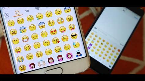 emoji di samsung cara mengganti emoji di android ngonoo com youtube