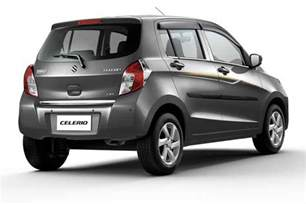 Suzuki Celerio Automatic Price Maruti Suzuki Celerio Limited Edition Launched In India At
