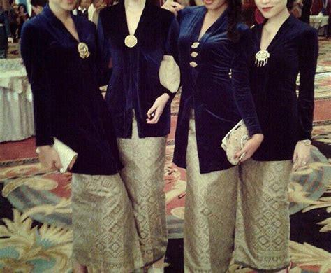 Kebaya Selendang Kamisol Knf 960 as 32 melhores imagens em baju kurung kebaya labuh no