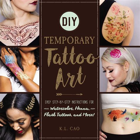 flash tattoo instructions diy temporary tattoo art book by k l cao official