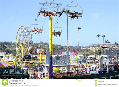 del mar fair reading certificates san diego county fair scene editorial stock image image