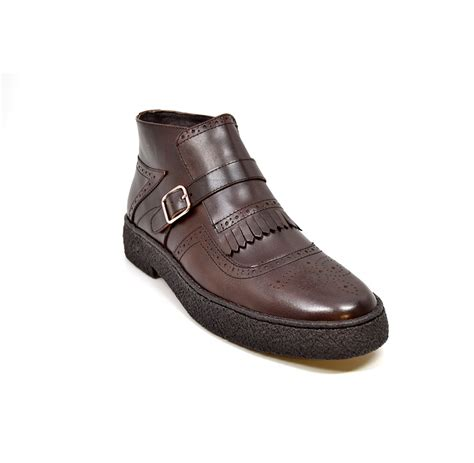 Project Original Slip On Leather Brown collection soho slip on brown leather