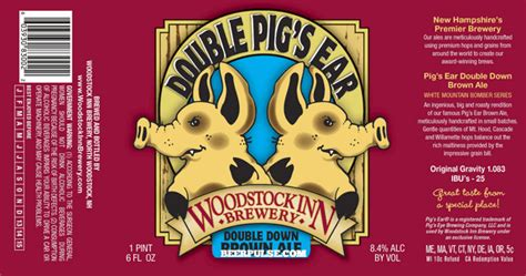 Double Click On Above woodstock inn double pig s ear double down brown ale