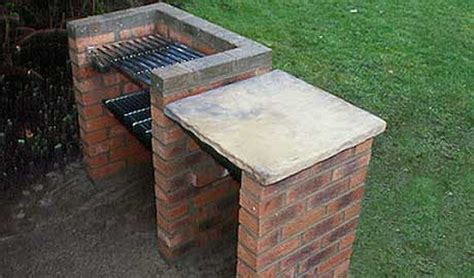 how to build a backyard grill brick edging brick bbq landscape gardening in