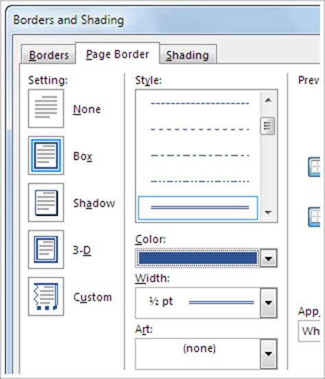 word 2016 2013 2010 using simple borders for a table of contents add change or delete borders from documents or pictures office support