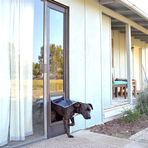 Simple Pet Furniture Sliding Glass Door Dog Door Home Pet Doors For Garage Doors