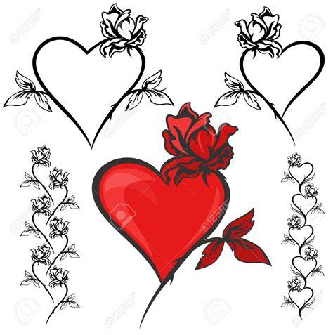 rose tattoo clipart clip 69
