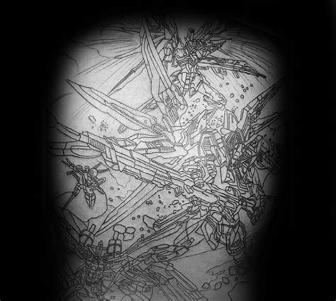 gundam tattoo 78 popular gundam and ideas stock golfian