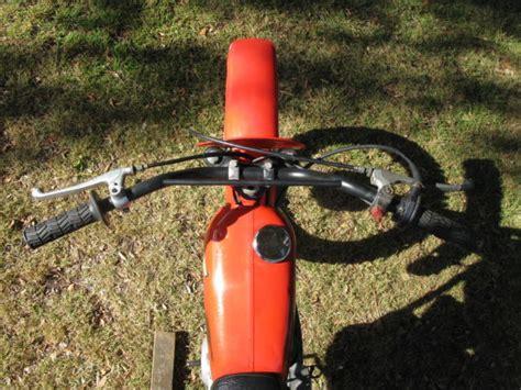 Swing Arm Matic Honda Original 1978 honda xr75 original paint supertrapp dg swingarm 1977 xr 75 80 100