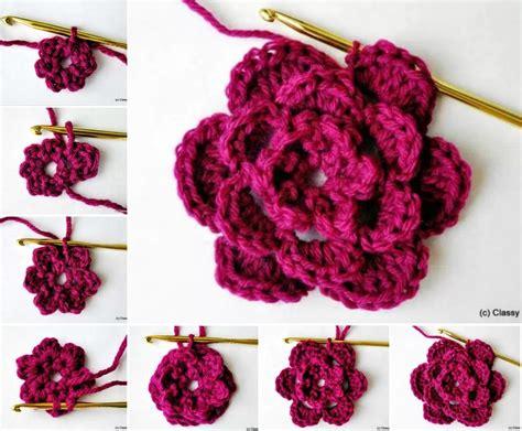 crochet flower pattern easy tutorial 3d crochet roses pattern easy video tutorial crochet