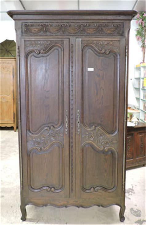 fauteuil medaillon 290 armoire de mariage ancienne ch 234 ne 395 vendu