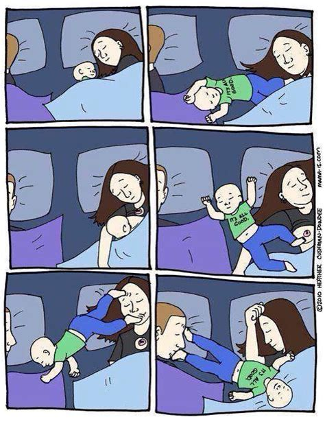 Sharing Bed Meme - metodo estivill vantaggi e svantaggi se il bimbo non
