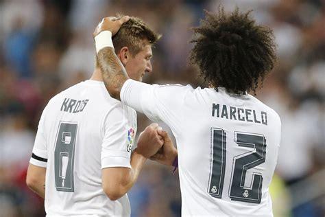 Marcelo White kroos mocks brazil marcelo takes offense managing madrid