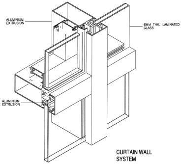 glass curtain wall details curtain walls details google search ellie rochman