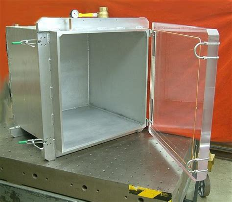 Trap Door Design vacuum chamber systems by abbess instruments all types