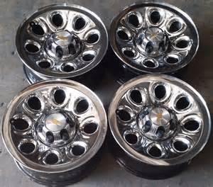 17 quot gmc denali 1500 factory oem chrome skin wheels