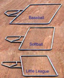 adjustable batters box template t02500 d8 mar co clay