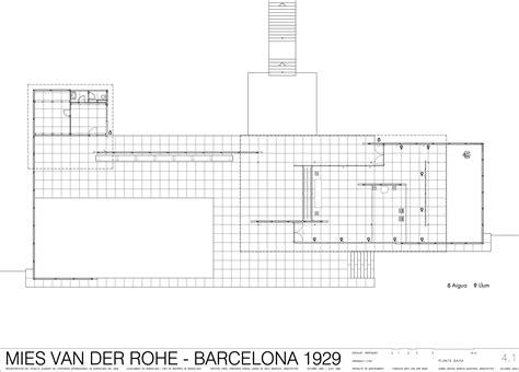 barcelona pavilion floor plan dimensions les 233 d une mod 233 lisation le pavillon allemand de
