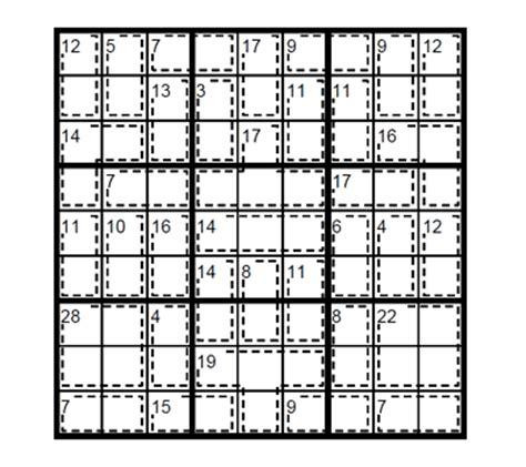 printable intermediate killer sudoku intermediate killer sudoku puzzle 1 intermediate killer