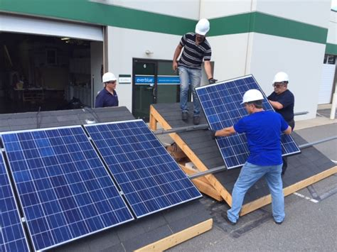 solar panels install solar energy courses everblue