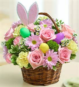 beautiful easter baskets this bright and beautiful basket arrangement is a great centerpiece 39 99 easter pinterest