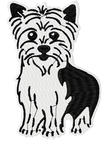 embroidery design yorkshire terrier yorkshire terrier free embroidery design 4 free