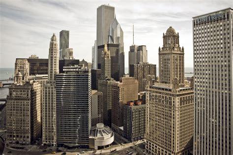chicago illinois city skyscrapers buildings wallpaper